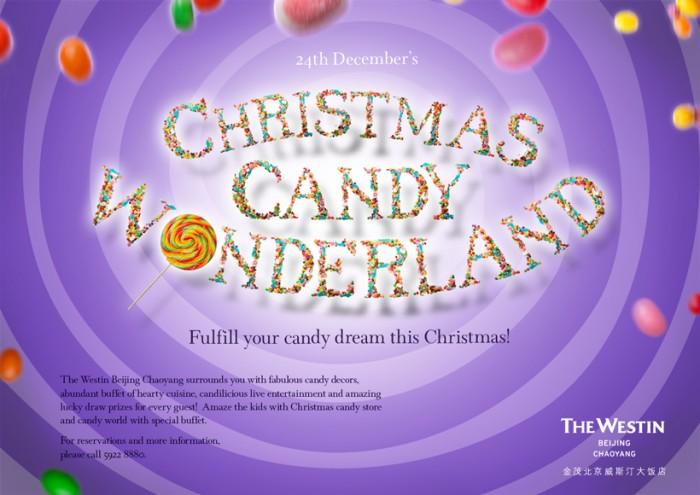 Christmas Candy Wonderland at Westin