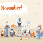 Desktop wallpaper for Smashing Magazine: November