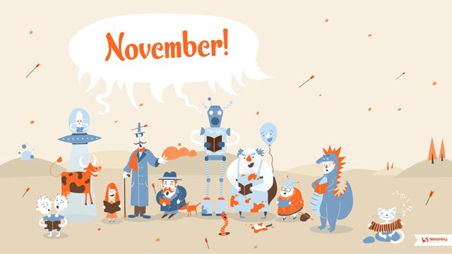 Desktop Wallpaper For Smashing Magazine November