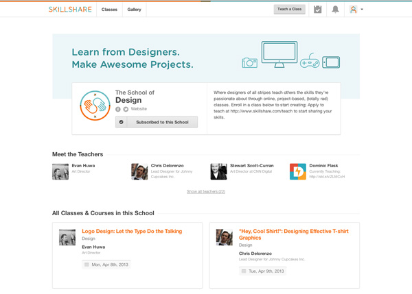 Skillshare School of Design