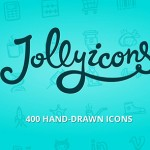Jolly Icons — 400 hand-drawn icons + 36 free icons