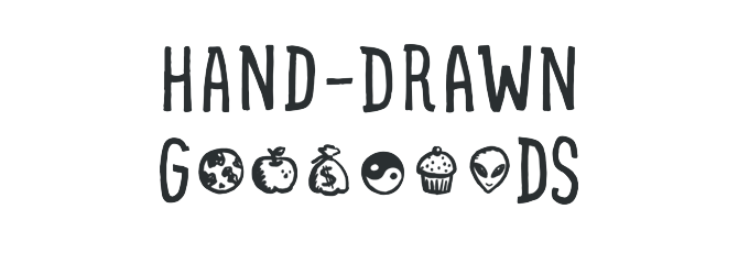 Hand Drawn Goods – hand-drawn icons, UI elements for websites and apps